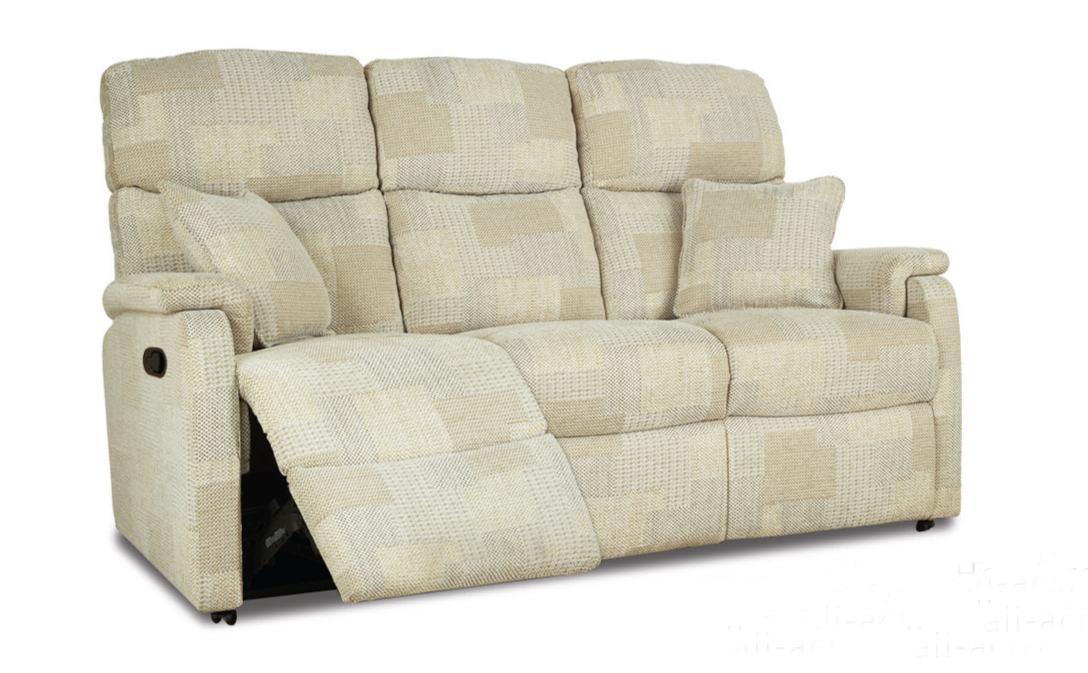 York 3 seater Manual Recliner