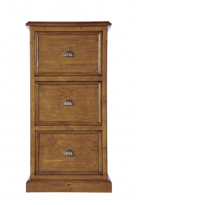 Cathedral 3 Drawer Filing Cabinet