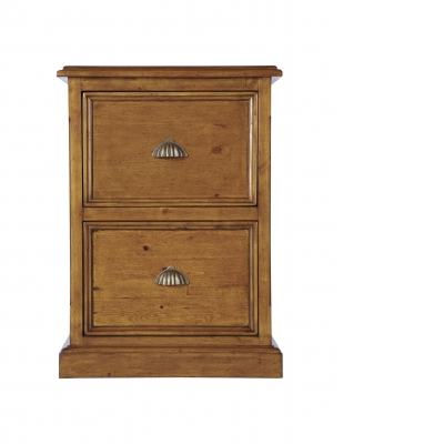 Cathedral 2 drawer filing cabinet