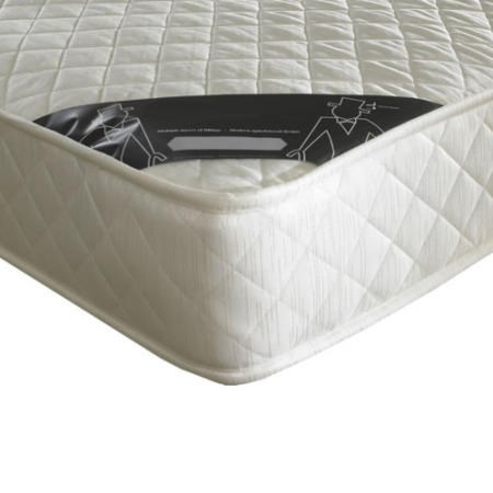 Diamond Platinum Luxury Quilted 90cm Sprung Mattress