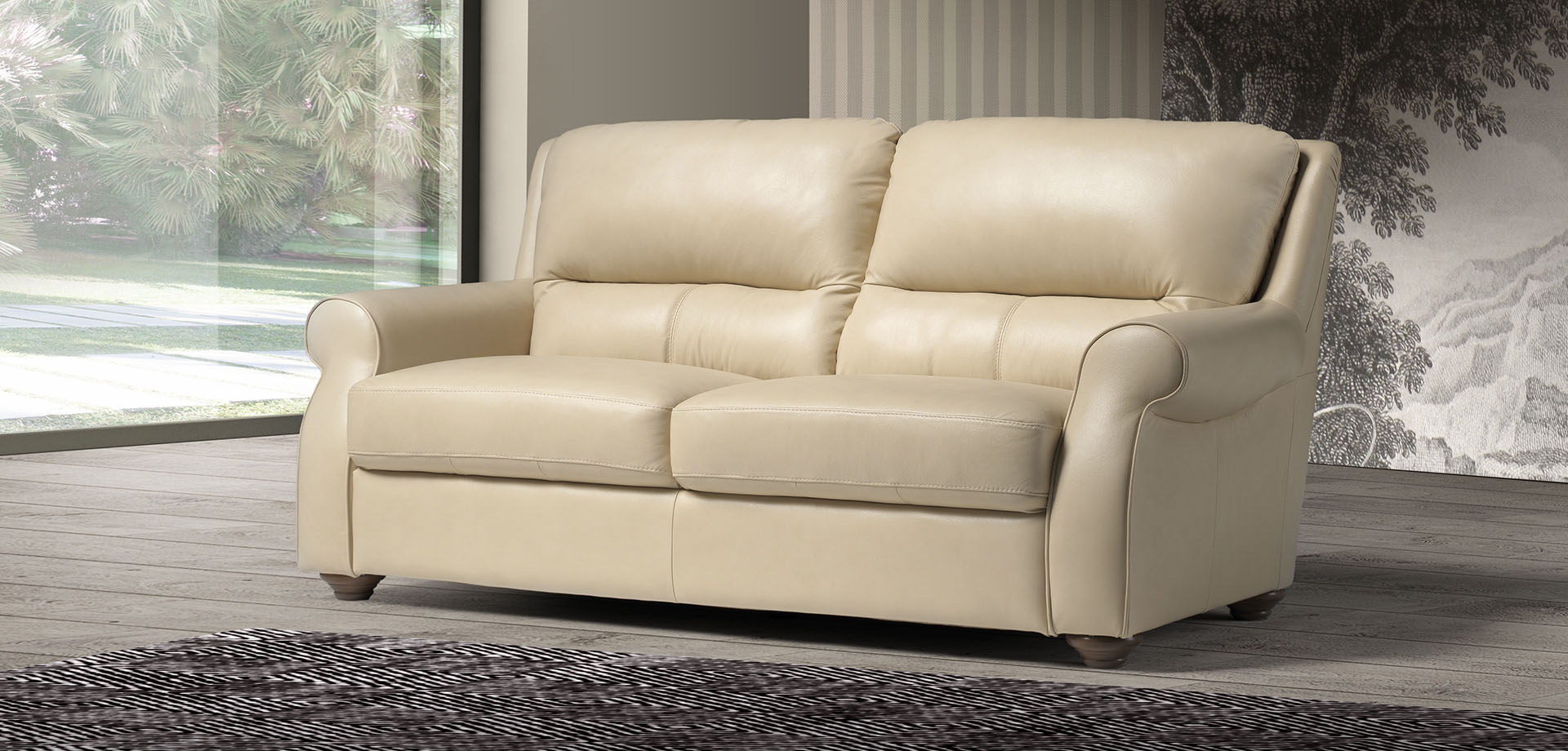 Grace small 3 seater Sofa (C)