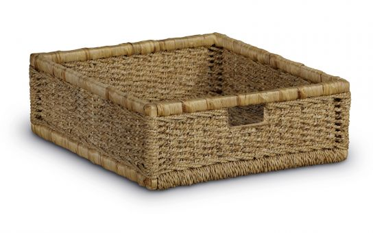 Linford set of 2 Wicker Storage Baskets