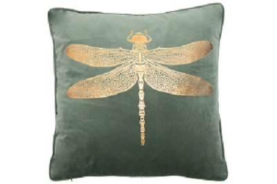 -Dusty Dragonfly Cushion