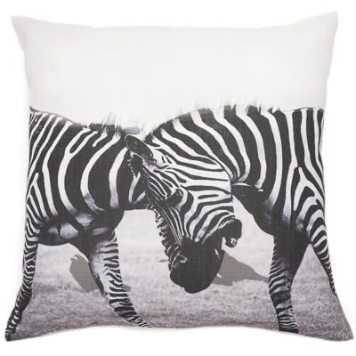 -Zelda Zebra Cushion