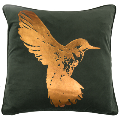 -Hettie Hummingbird Cushion