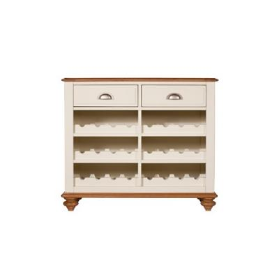 Wessex Narrow Sideboard with Wine Rack