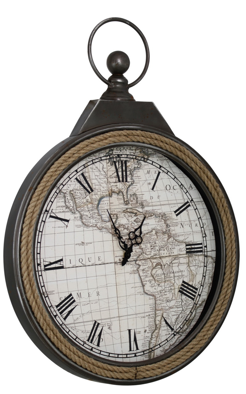 Atlas Wall Clock